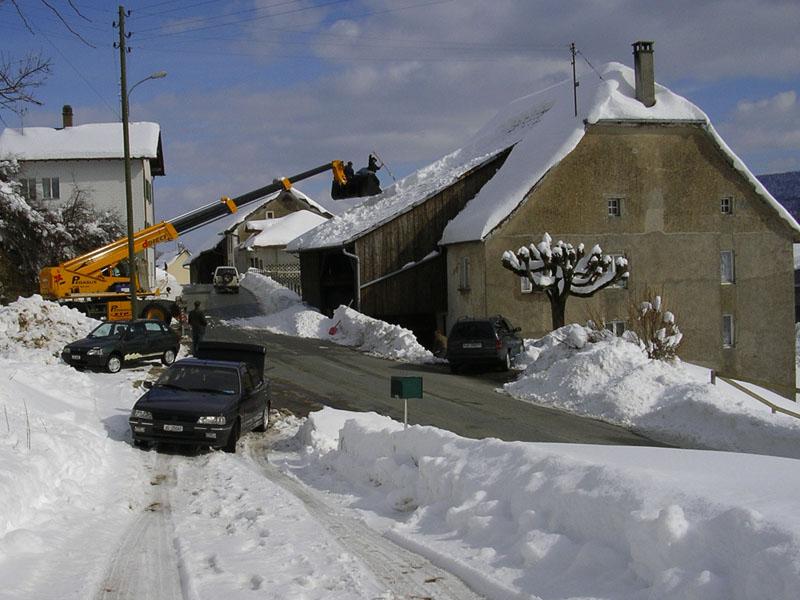 Déblayage de neige en toute sécurité